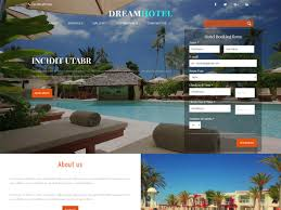 Real Estate Website Templates Interesting 48 Bootstrap Hotel Templates Free In 20148 Freemium Download