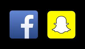 Resultado de imagen para Snapchat de Facebook