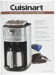 Enter your email to receive email and other commercial electronic messages about the latest news, promotions, special offers and other information from costco, regarding costco, its affiliates and selected partners. Cuisinart Burr Grinder Coffee Maker Page 1 Line 17qq Com
