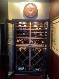 closet wine storage