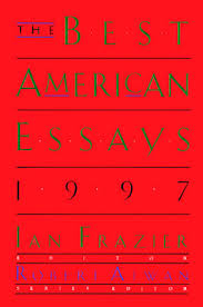 the best american essays by ian frazier