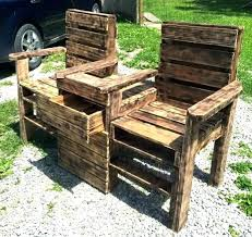 furniture out of wooden pallets. Deck Furniture Made From Pallet Patio Out Of Wooden Pallets Rustic