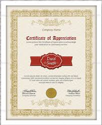 Certificate Of Appreciation Templates Free Download Format For Certificate Of Appreciation Free Sample Certificate