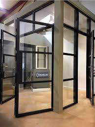 aluminium internal door room partitions