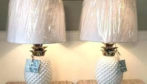 tommy bahama lamps pineapple lamp set of 2 white gold table heron tommy bahama
