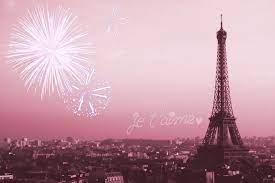 Pink Eiffel Tower Wallpaper Hd