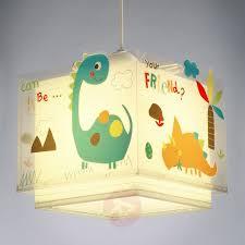 Bunte Kinderzimmer Hängeleuchte Dinos