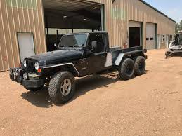 This Guy Built Himself a Jeep Wrangler Pickup 6x6 And it Drives Just ...