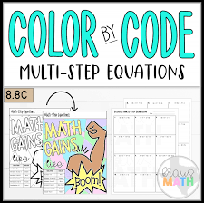 color by number math gains multi step