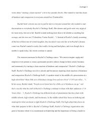 rachel scott essay rachels challenge rachel scotts essay  rachel joy scott essay report web fc comrachel joy scott essay