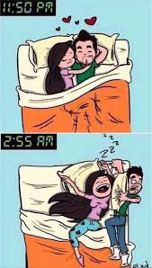 Sleeping couple | Funny Pictures, Quotes, Memes, Jokes via Relatably.com