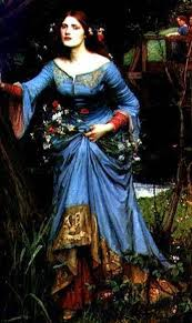 essay on a shakespeare related piece of work ophelia by millais ernest hebert s ophelia of circa 1910 shows a latent sexuality he concentrates on the face no long dress just the staring eyes and the flowers