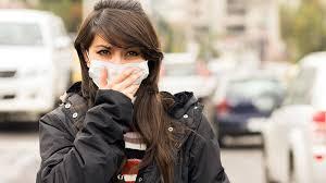 Image result for اثرات آلودگی هوا بر روی پوست