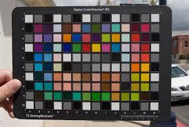 Gretagmacbeth Colorchecker Chart Gretag Macbeth Colorchecker Sg This Is The Colorchecker Sg