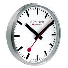 wall clocks for office. Mondaine Wall Clock Analogue A990.CLOCK.16SBB A990.CLOCK.16SBB: Amazon.co.uk: Kitchen \u0026 Home Clocks For Office C