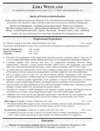 Examples Of Medical Resumes Resume Objective Best Practices Sugarflesh 23