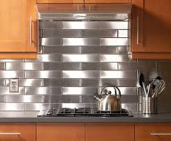 Backsplash Ideas, Stainless Steel Backsplash Sheets Quilted Stainless Steel  Backsplash Nice Cool Simple Design Elegant