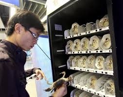 Live Crab Vending Machine Fascinating 48 Vending Machines You Wouldn't Think Exist