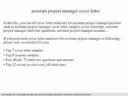 Project Management Assistant Cover Letter Clinical Manager Resume