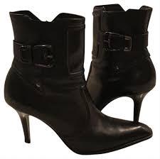 Designer Black Booties Cole Haan Black Leather Designer Boots Booties Size Us 8 5 Regular M B