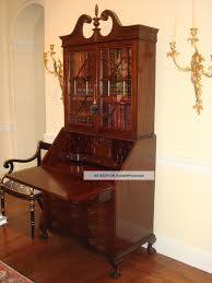 antique secretary desk with bookcase writing s drop front styles value graceful photos full size