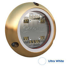 ocean led boat electrical and lighting ocean led sport series s3116s underwater light ultra white boat marine 012102w