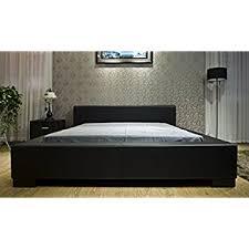 Greatime Platform Bed Queen Black