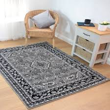 sincerity sherborne grey traditional rug by flair rugs 1