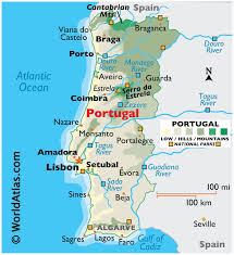 The land within the borders of today's portuguese republic has been constantly settled since prehistoric iberia prehistoric times. Portugal Maps Facts World Atlas