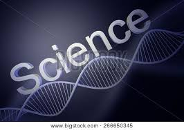 Science Poster Background Diagonal White Dna Helix Word Science Poster