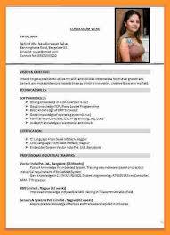 American Curriculum Vitae Format Cv Usa Format Magdalene Project Org