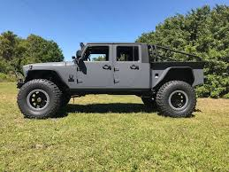 the final bruiser jeep truck conversion option is the super cab it s based on the two door jeep wrangler it is nimbler than the other bruiser truck