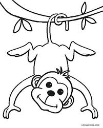 You can use our amazing online tool to color and edit the following monkey coloring pages free printable. Free Printable Monkey Coloring Pages For Kids Monkey Coloring Page Monkey Coloring Pictures Monkey Coloring Pages Zoo Coloring Pages Zoo Animal Coloring Pages