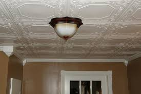 ceiling tiles enhanced with molding