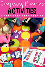 Comparing Numbers Activities Tickled Pink In Primary