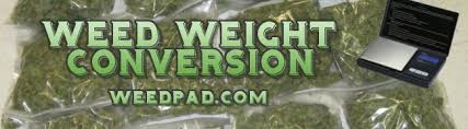Grams To Pounds Weed Weight Conversion Chart