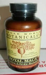 Whole World Botanicals <b>Royal Maca for Men</b> Gelatinized 500 mg ...