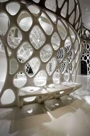 The Romanticism Shop in Hangzhou, China by SAKO Architects, futuristic interior  design, future