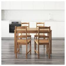 jokkmokk table and chairs breakfast nook set dining dinette sets bar glass black round