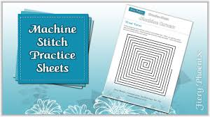 sewing machine practice sheets machine sewing practice sheets by babs at fiery phoenix youtube
