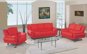 living room fancy 9908 living room collection red u9908 r sofa set homelement images of astounding red leather couch furniture