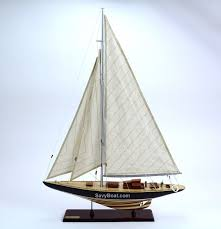 america s cup endeavor 24 handmade wooden sailboat model