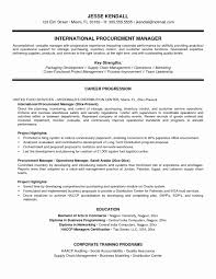 Sample Resume For Supply Chain Management Luxury Purchasing Manager