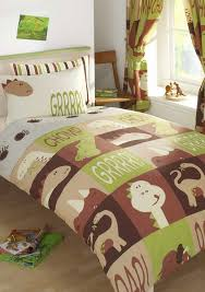 single duvet cover set with matching curtains dinosaur design co uk kitchen home