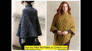 Free Knitted Poncho Patterns Amazing Inspiration