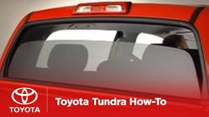2007 2009 tundra how to power sliding rear window toyota