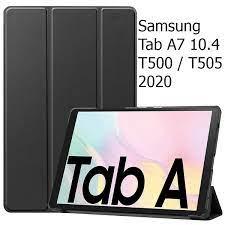 Bao Da Cover Dành Cho Máy Tính Bảng Samsung Tab A7 10.4 T500 / T505 2020 Hỗ  Trợ Smart Cover | An An Store