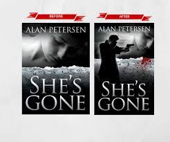 book cover redesign for she s gone