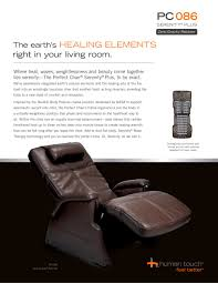 perfect posture chair. PC-086 Perfect Chair® Serenity® Plus Recliner - 1 / 2 Pages Posture Chair
