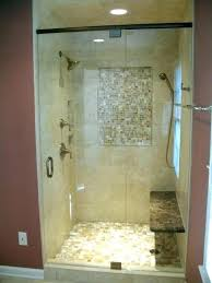 stand up shower ideas stand up shower remodel before and after